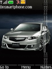 Honda Accord 01 theme screenshot