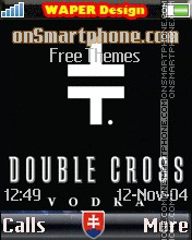 Double Cross Vodka 2 theme screenshot