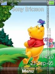 Pooh 09 es el tema de pantalla