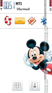 Micky Mouse 02 theme screenshot
