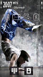 Break Dancer es el tema de pantalla