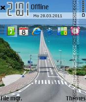 Long road es el tema de pantalla
