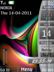 Sidebar Battery theme screenshot