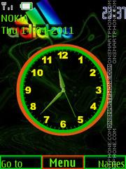 Adidas Clock theme screenshot