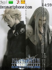 Final Fantasy tema screenshot