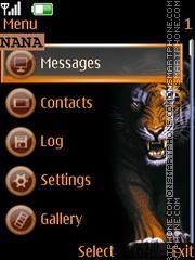 Wild Tiger CLK theme screenshot