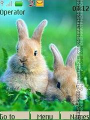 Hares theme screenshot