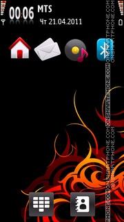 Fire Cool Theme es el tema de pantalla