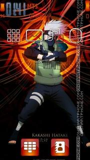 Hatake Kakashi 03 theme screenshot