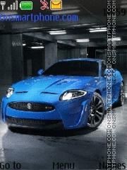Jaguar XKR 01 theme screenshot