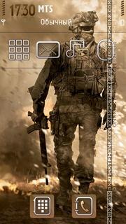 Modern Warfare 2 01 theme screenshot