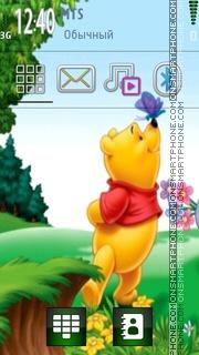 Winnie Pooh 103 es el tema de pantalla