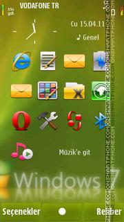 S^3 Hacked windows7 tema screenshot