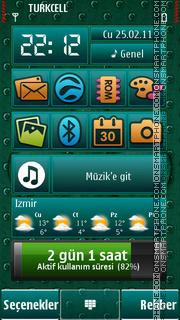 Fleur tema screenshot