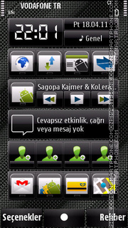 Fabricgray theme screenshot