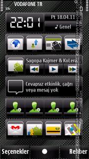 Fabricgray tema screenshot