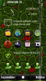 S^3 hacked foliage theme screenshot