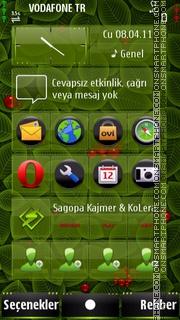 Foliage es el tema de pantalla