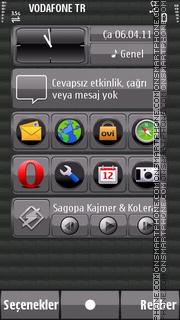 Glossy tema screenshot