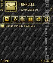 Gold es el tema de pantalla