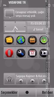 Grey tema screenshot