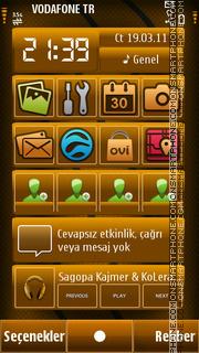 Brown tema screenshot