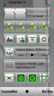 Gray tema screenshot