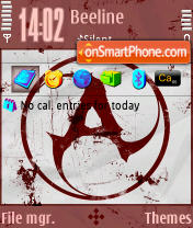 Amatory theme screenshot