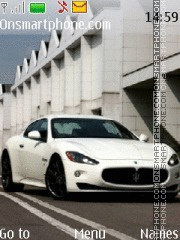 Maserati Gran Turismo theme screenshot
