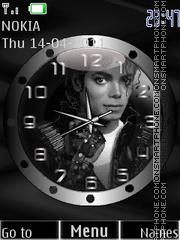 MJ Clock es el tema de pantalla