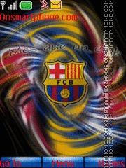 Barcelona 2011 theme screenshot