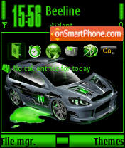 Alien Tunning theme screenshot