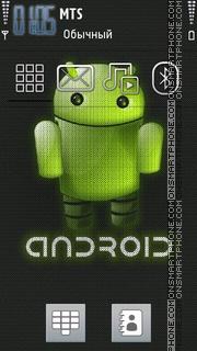 Android Version tema screenshot