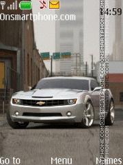Chevrolet Camaro SS 2010 theme screenshot