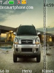 Hyundai Tucson theme screenshot