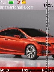 Honda Civic Si Concept theme screenshot