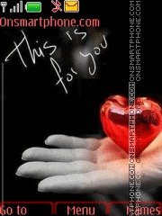 Heart Love 02 theme screenshot