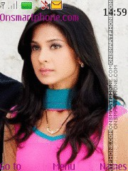 Jennifer Winget theme screenshot