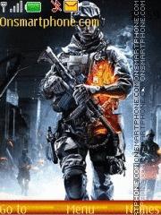 Battlefield 3 01 es el tema de pantalla