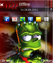 Frank bart theme screenshot