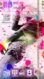 Dance Colors es el tema de pantalla