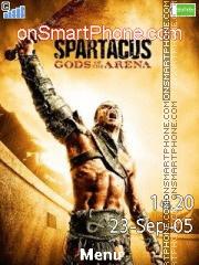 Spartacus: Gods of the Arena es el tema de pantalla