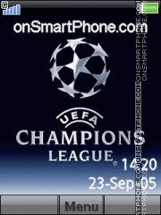 Champions League 10 es el tema de pantalla