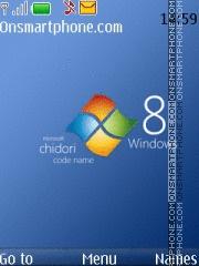 Windows Blue 01 es el tema de pantalla