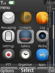 I Phone Freak theme screenshot