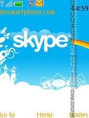 Skype Theme es el tema de pantalla