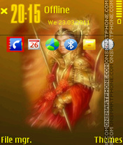 Samurai 04 theme screenshot