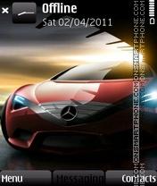 Black Mercedees Concept es el tema de pantalla