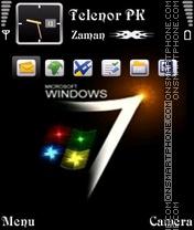 Window Seven 01 theme screenshot