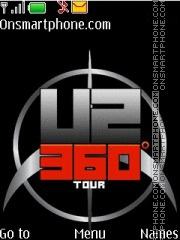 U2 360 Tour es el tema de pantalla